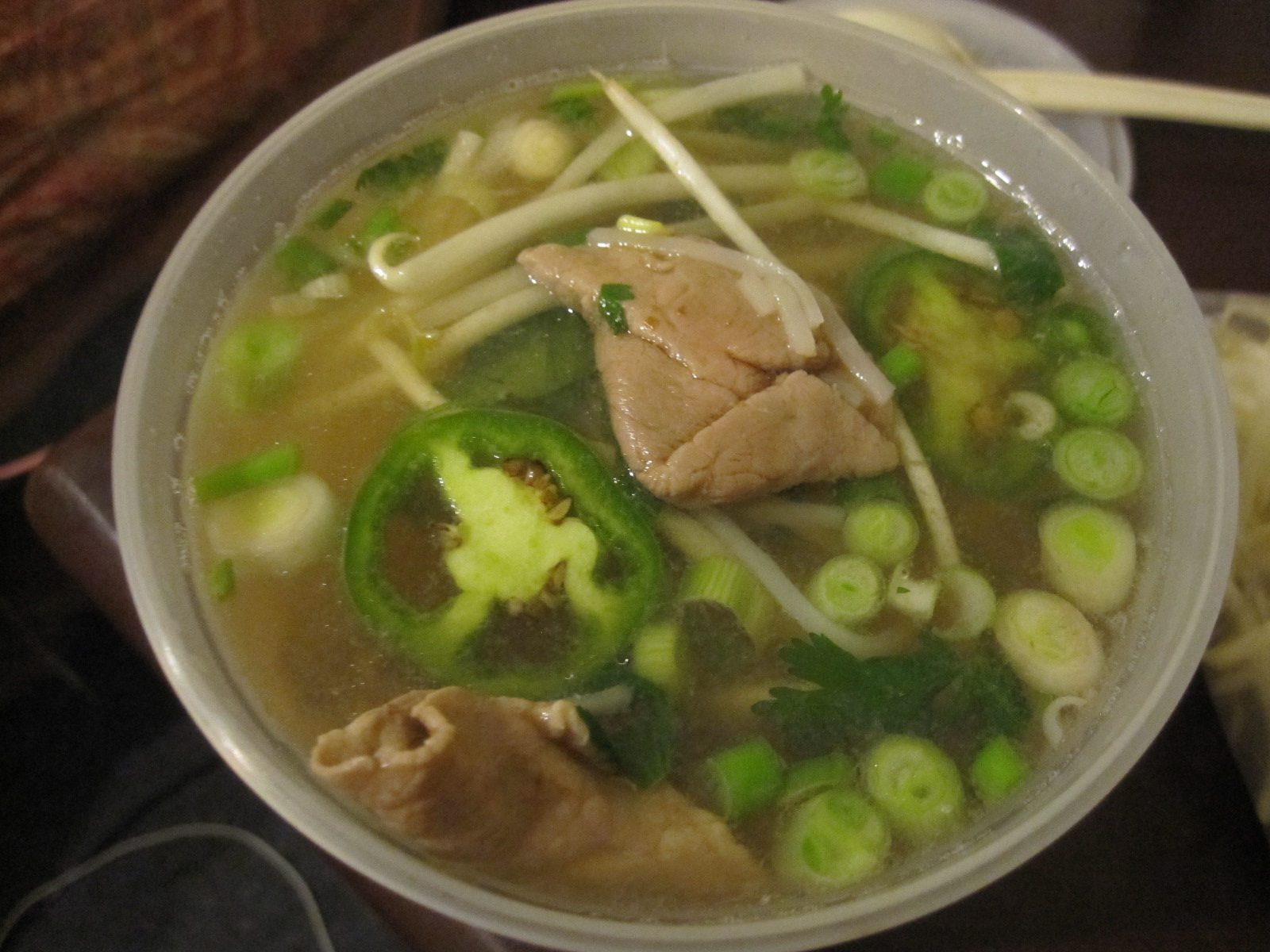 Chicken soup for the soul but pho for a cold the good fork for Soup for a cold