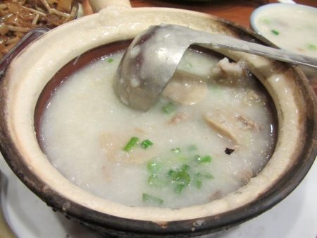 It's not exactly soup, but this chicken congee will give any ol' chicken noodle a run for its money