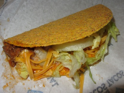 Cool Ranch Doritos Locos Taco