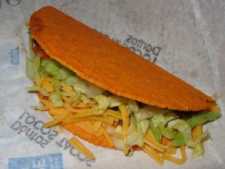 Nachos Doritos Locos Taco
