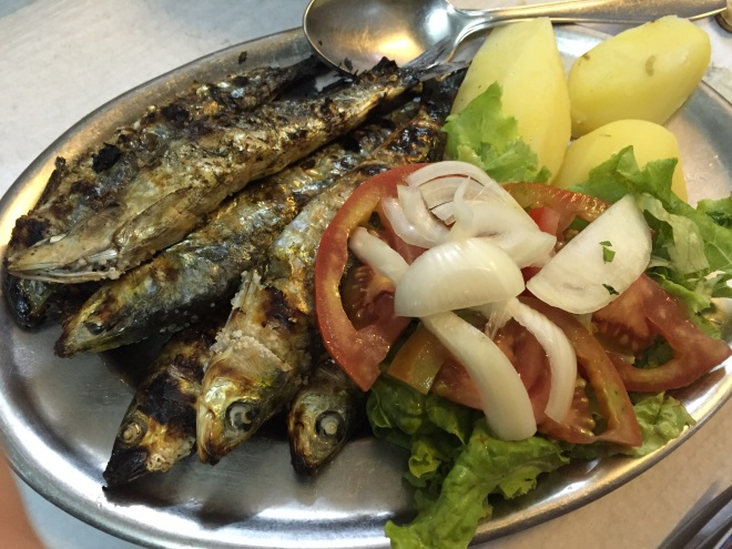 It wouldn't be Portugal without sardines.