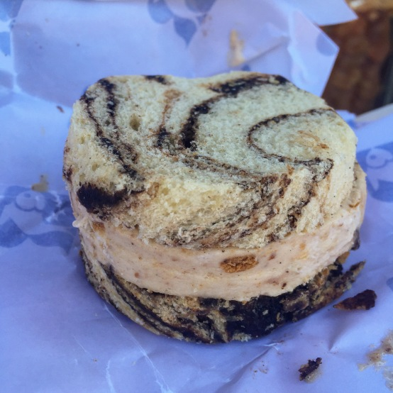 Babka and ice cream are having a summer fling and I love it.